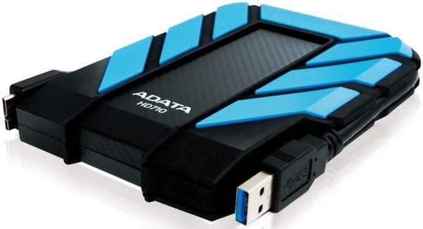 ADATA HD710 1TB, AHD710-1TU3 (modrý) - externí disk