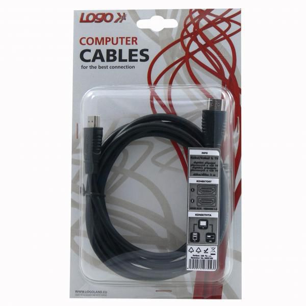 Logo KM0201INQL - HDMI kabel