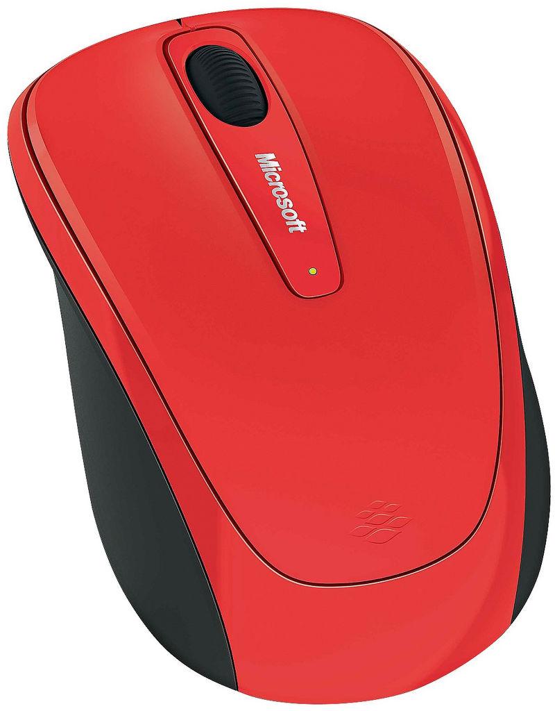 MICROSOFT L2 Wireless Mobile Mouse 3500 Fl (červená)