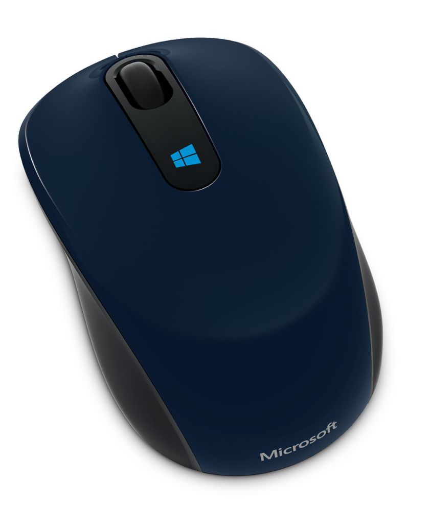 Microsoft Sculpt Mobile Mouse (modrá)