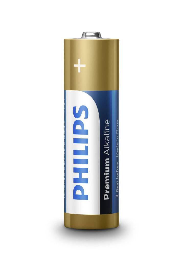 Philips Premium Alkaline AA (LR6), 4ks