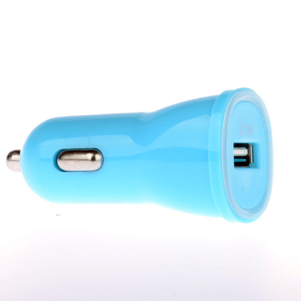 Winner autonabíječka + datový kabel pro iPhone 5/6 (modrá)