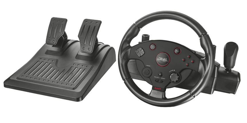 Trust 20293 GXT 288 Racing Wheel - volant s pedály
