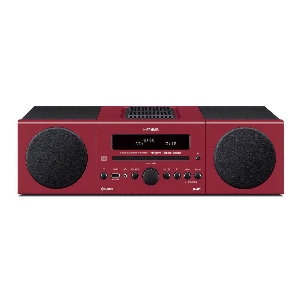 Yamaha MCR-B043D (červený)