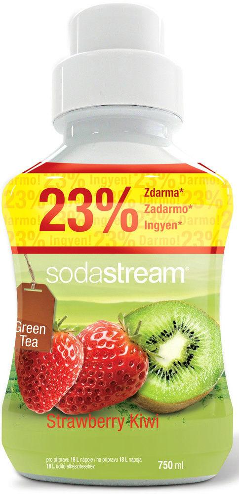 Sodastream Green Ice Tea Kiwi/Jahoda sirup (750ml)