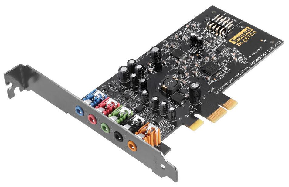 Creative SB AUDIGY FX, PCIE - int. zvuková karta