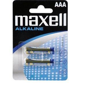 Maxell Alkaline AAA (LR03), 2ks