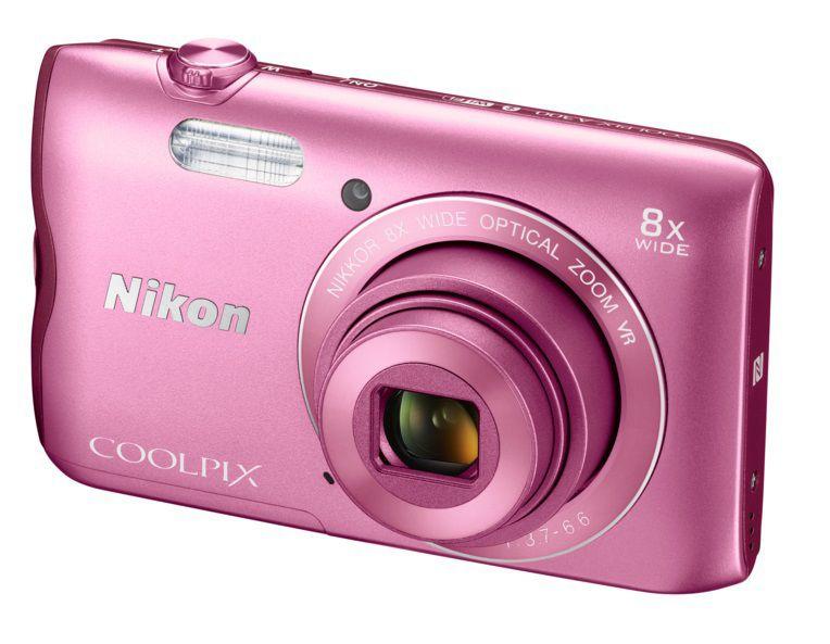 Nikon Coolpix A300 (růžový)