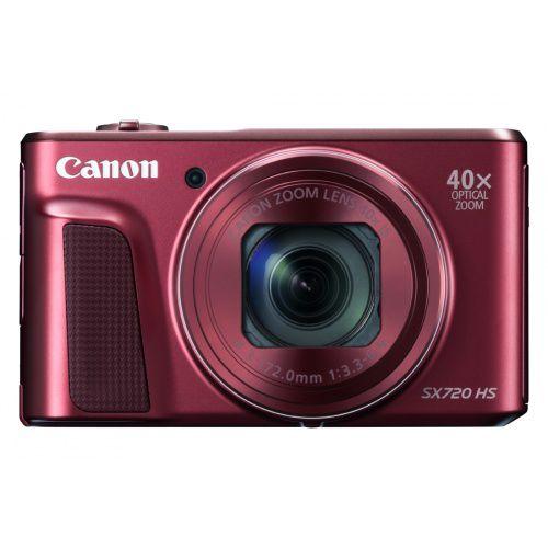 Canon PowerShot SX720 HS (červený)