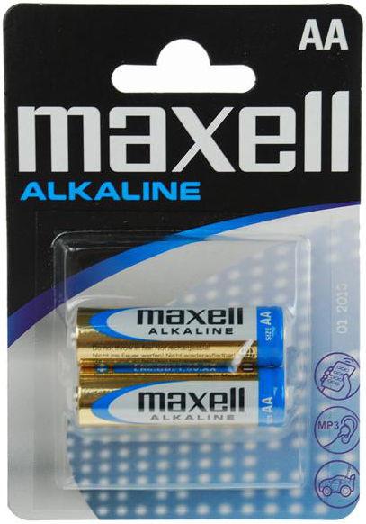 Maxell Alkaline AA (LR6), 2ks