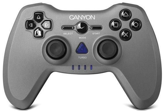 Canyon CNS-GPW6 - BT gamepad (PC, PS2, PS3)