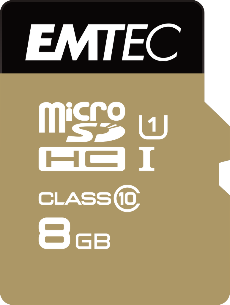 Emtec 8GB Micro SDHC Class10