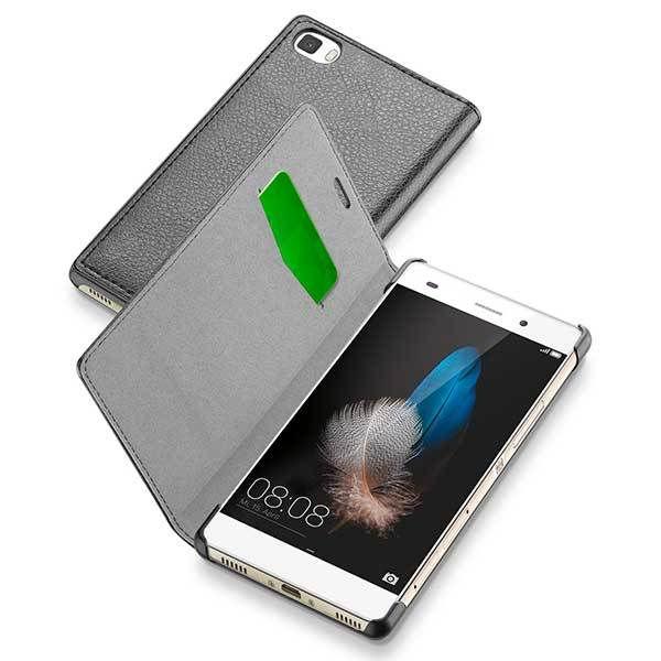 CellularLine Book Essential pouzdro pro Huawei P8 Lite (černé)