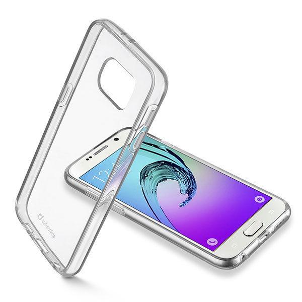 CellularLine pouzdro pro Samsung Galaxy A3 Duos (transparentní)