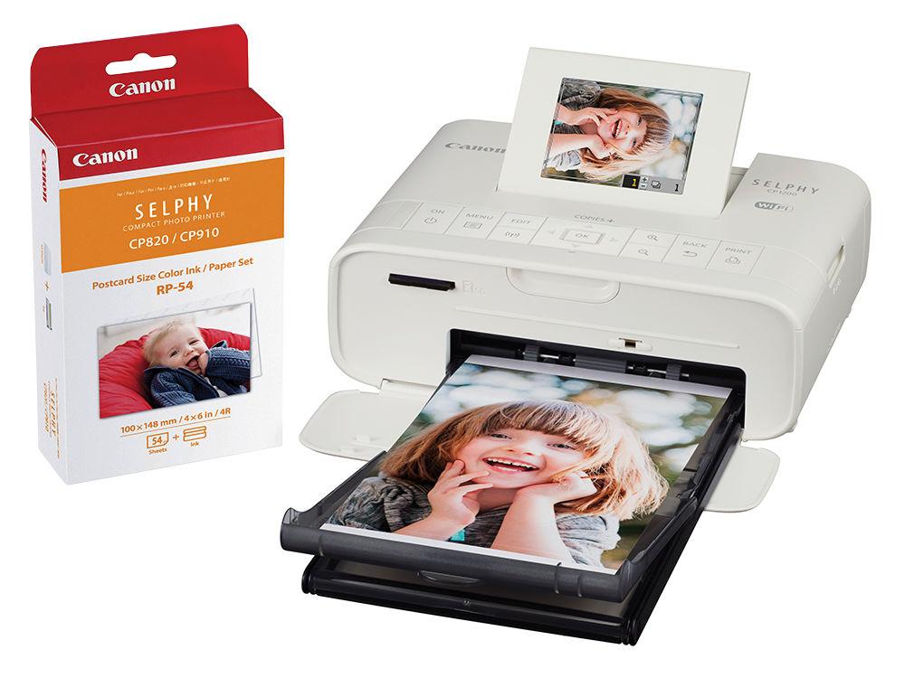 Canon Selphy CP1200 KIT (bílá) - TS foto tliskárna