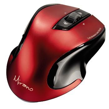 Hama 53877 Mirano (červeno-černá) - bezdrátová laserová myš