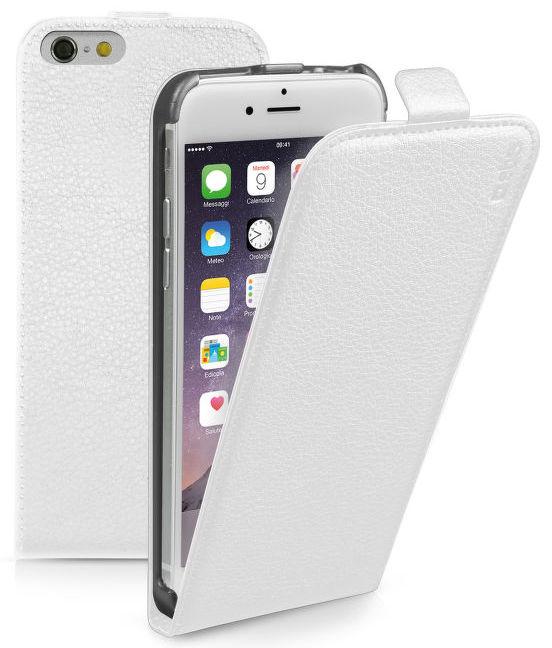 SBS Flip pouzdro pro Apple iPhone 6/6S (bílé)