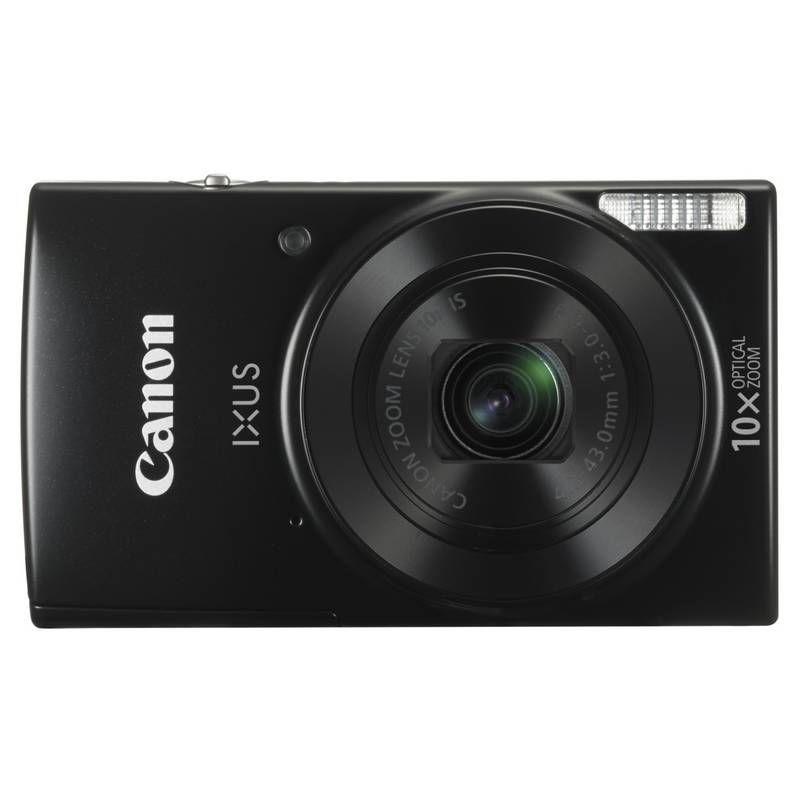 Canon IXUS 180 Essentials KIT (čierny) + 8GB SD karta + pouzdro