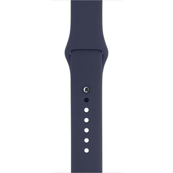 Apple MLL02ZM/A 42mm sportovní řemínek půlnočně modrý