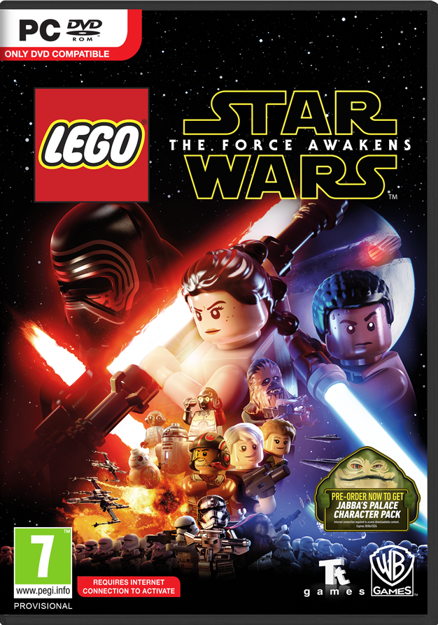 LEGO Star Wars: The Force Awakens - hra na PC