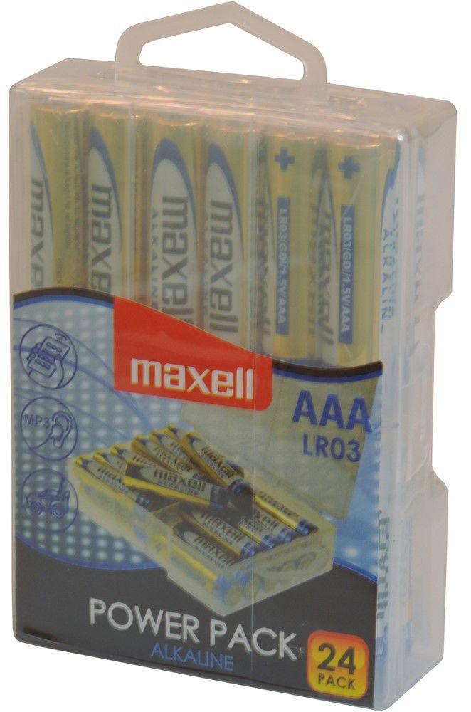 Maxell LR03 24BP AAA Power Alkaline