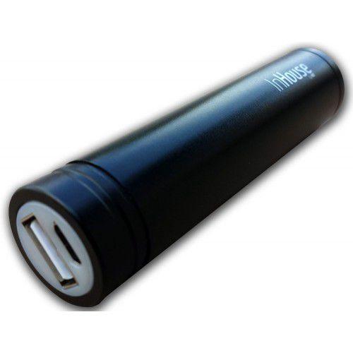 InHouse Power Bank MKF-PBS02B, 2200mAh, USB výstup 5V/1A (černá)