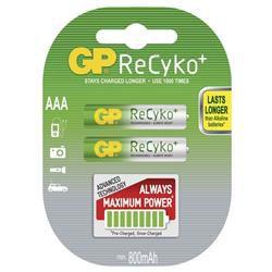 GP B0818 ReCyko+ - AAA (HR03) 800mAh, 2 ks