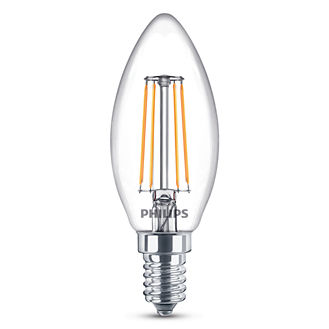 Philips Lighting 4W (40W) B35 E14 WW