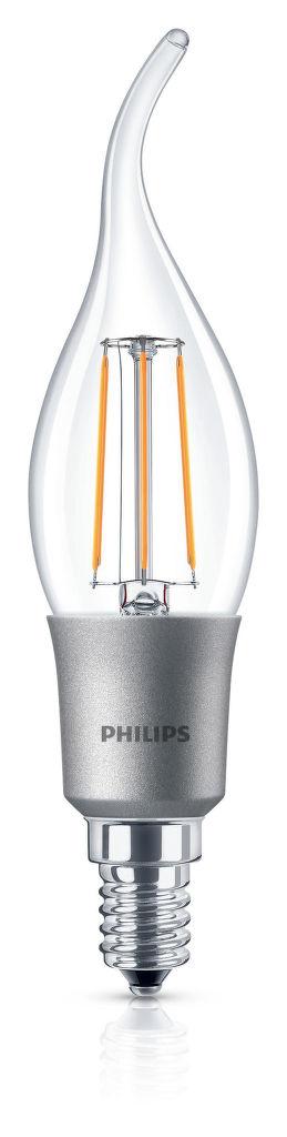 Philips Lighting 5W (40W) BA35 E14 WW