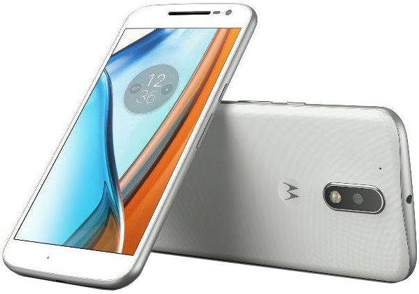 Motorola Moto G4 Plus bílý