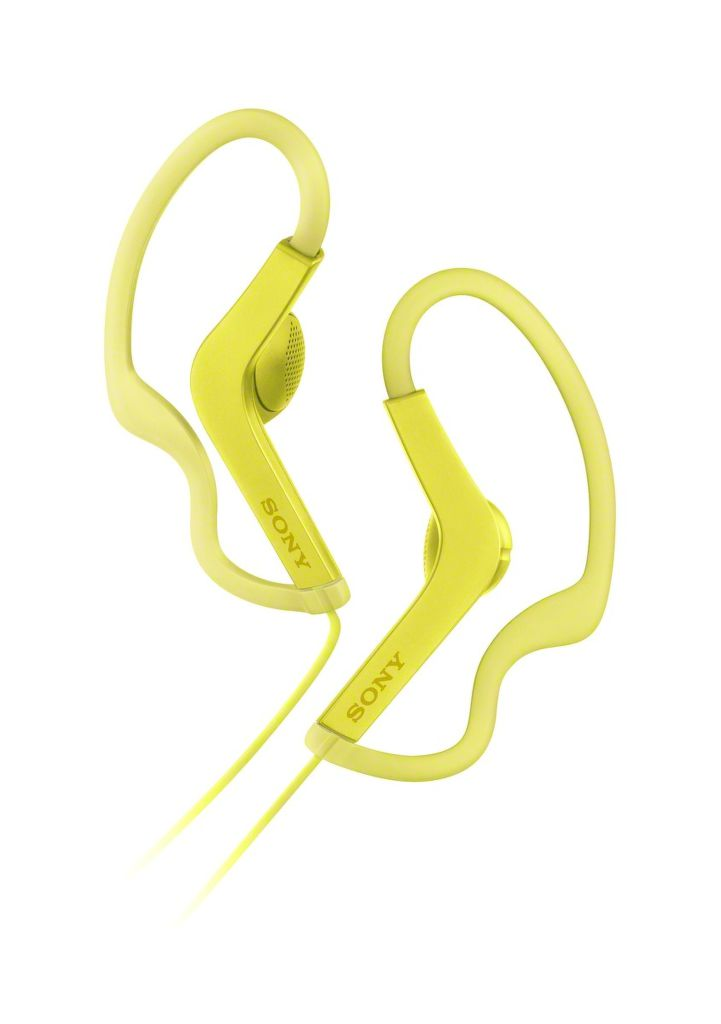 Sony MDR-AS210 (žlutá)
