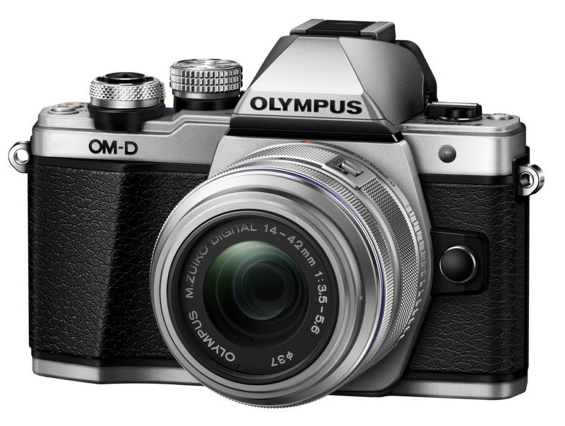 Olympus E-M10 Mark II + 14-42 Kit (stříbrný)