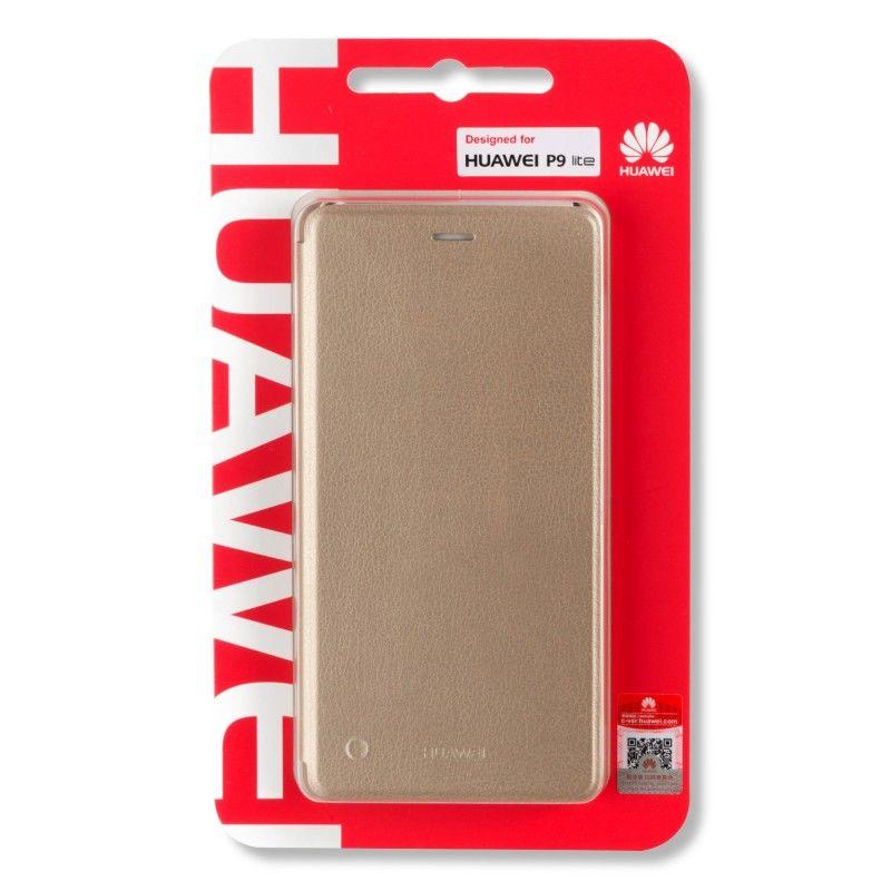 Huawei Original Folio Pouzdro P9 Lite (zlaté)