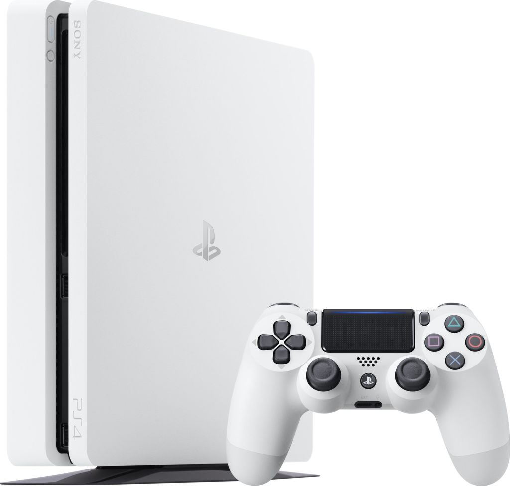 Sony PlayStation 4 Slim 500GB (bílá) + dárek God of War - PS4 zdarma
