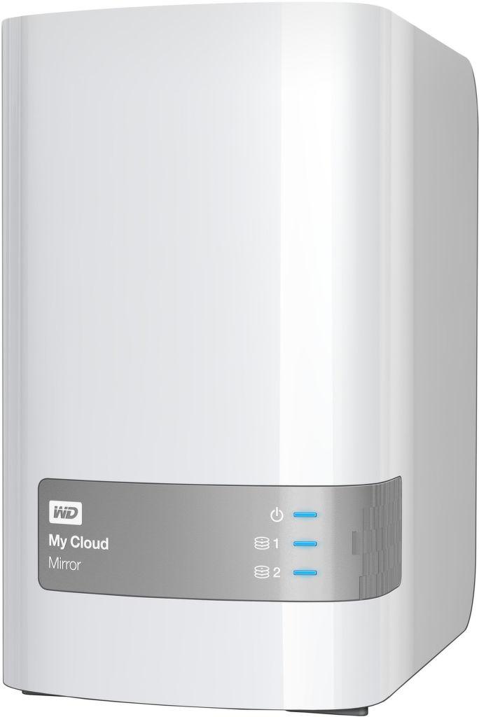 WD My Cloud Mirror 2x4TB (bíly) - NAS