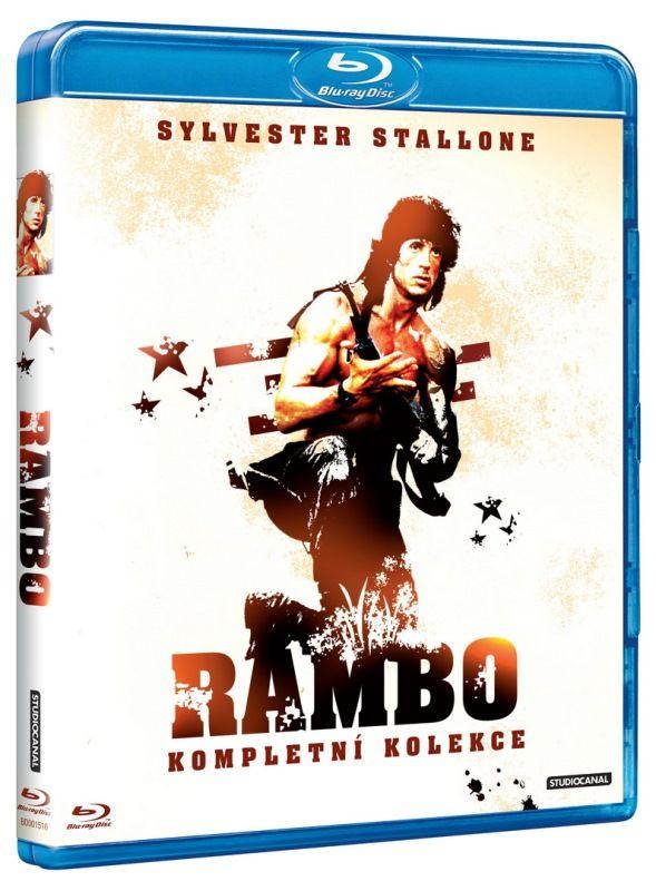 Rambo 1-3 - Blu-ray film