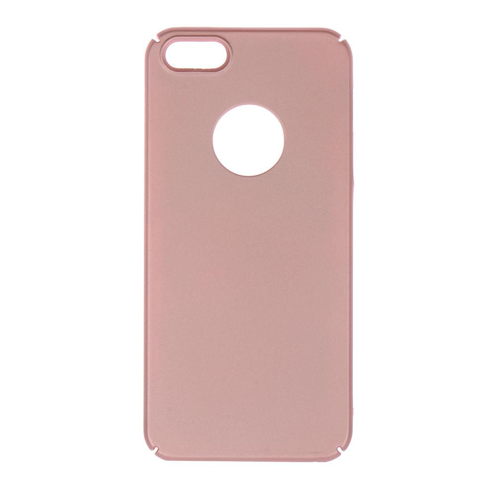Winner iPhone 5 Velvet růžové pouzdro na mobil