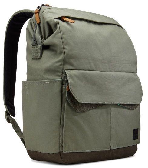 """Case Logic LoDo P114PTG zelený 14"""" batoh na notebook"""