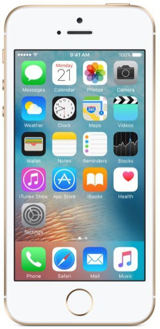 Apple iPhone SE 128GB zlatý