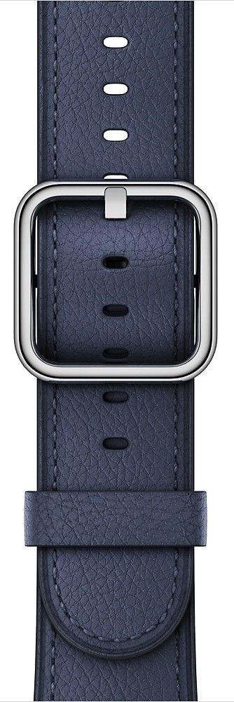 Apple Watch 38mm půlnočně modrý klasický řemínek