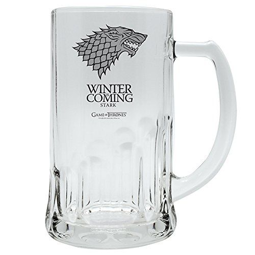 Game of Throne Winter is coming Stark sklenice (500ml)