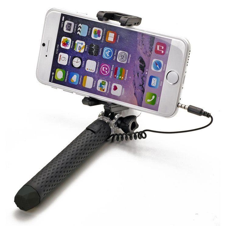 CELLY Miniselfie BLK, Selfie tyč