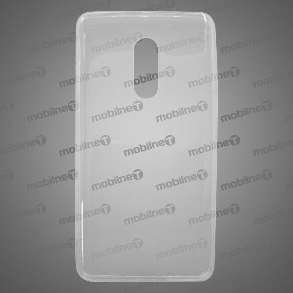 Mobilnet Gumové pouzdro Xiaomi Redmi Note 4 transparentní