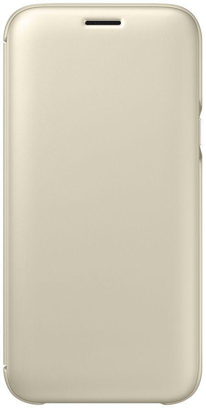 Samsung Flipové pouzdro pro Galaxy J5 2017 zlaté