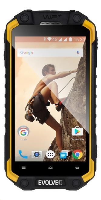 Evolveo StrongPhone Q9 černo žlutý