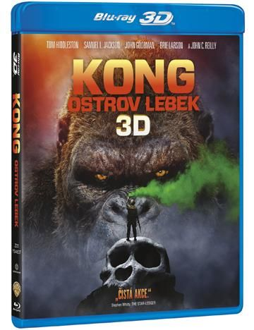 Magic Box Kong: Ostrov lebek - Blu-ray film
