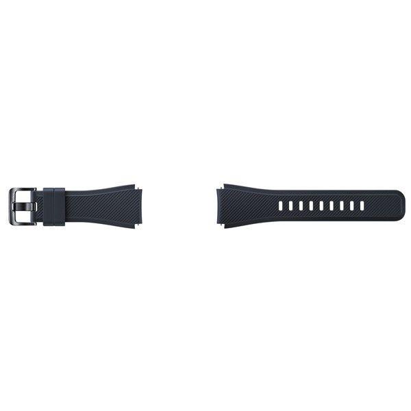 SAMSUNG Gear S3 černý silikonový řemínek