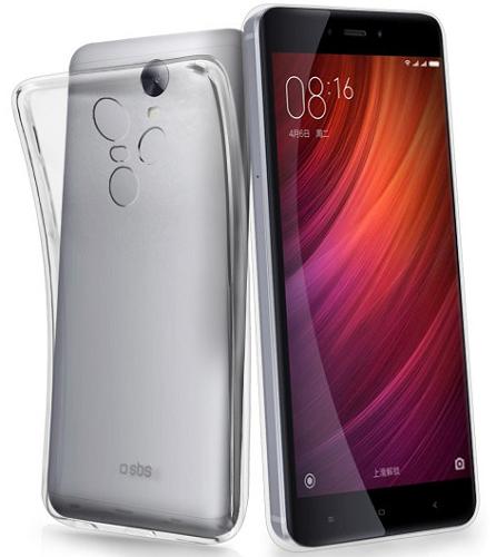 SBS pouzdro pro Xiaomi Redmi Note 4, čiré