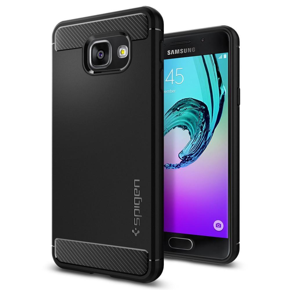 Spigen Galaxy A3 2016 Case Rugged Armor, černá
