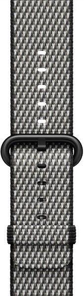Apple Watch 42mm černý károvaný nylonový řemínek